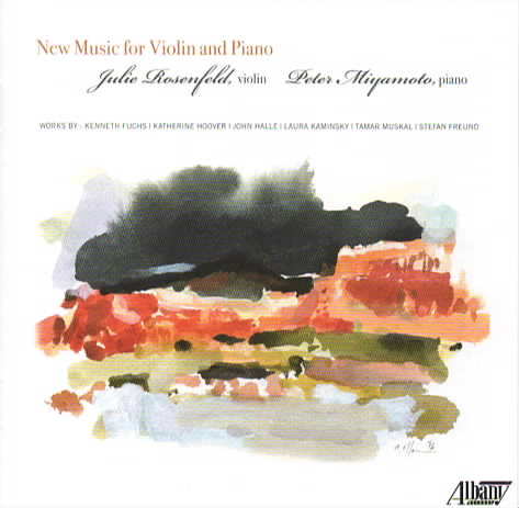 New Music for Violin and Piano CD recording